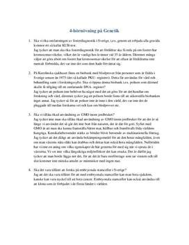 Genetik   Fosterdiagnostik   Stamceller   Frågor och svar