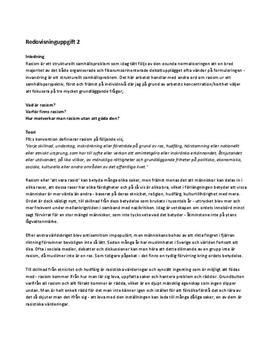 Rasism ur ett samhällsperspektiv | Analys