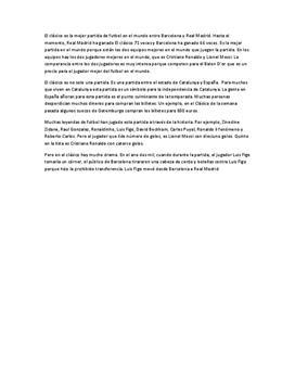 El Clásico | Sammanfattning