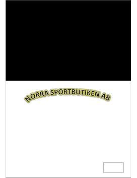 Marknadsplan | Norra sportbutiken AB | Rapport