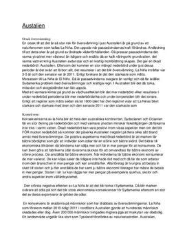 La Niña | Utredande text