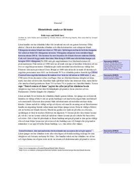 Irish Ways and Irish Laws: Historiebruk | Låtanalys