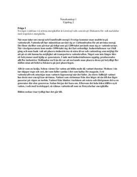 Ekologi: Energikällor, miljömärkning, ozon, försurning | Frågor och svar