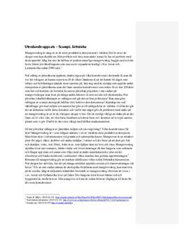Jätteräkans miljöpåverkan | Utredande text