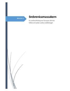 Folkmord: Srebrenicamassakern 1995   Rapport