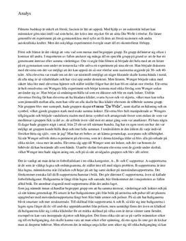 Die Welle och Joharis fönster | Analys