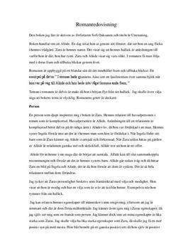 Utrensning av Sofi Oksanen | Sammanfattning