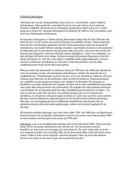 Ideologier: Socialdemokraterna och Sverigedemokraterna