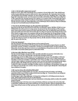 Frågor och svar om genteknik och etik