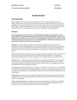 Skyddad identitet | Bokanalys
