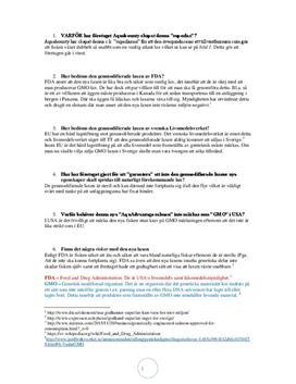 Frågor om AquaBounty och CRISPR-Cas9 | Biologi