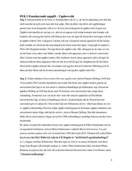 Upphovsrätt | Sammanfattning och frågor & svar