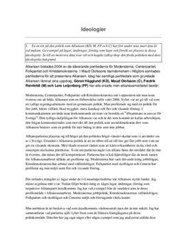 Frågor och svar: Svensk partipolitik och ideologier