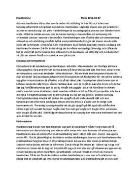 Vårdpedagogik och handledning | Sammanfattning