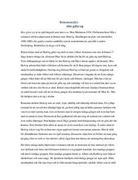 Mor gifter sig | Bokanalys