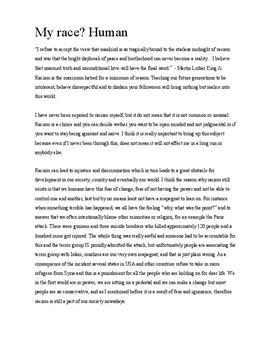 Rascism | Essay