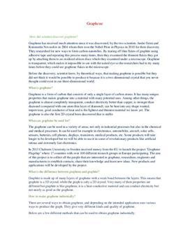 Graphene | Frågor och svar