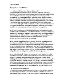Samhällsklasser | Frågor och svar