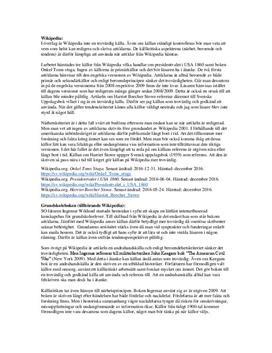 Källkritik | Analys