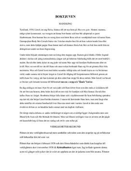 The Book Thief | Filmanalys