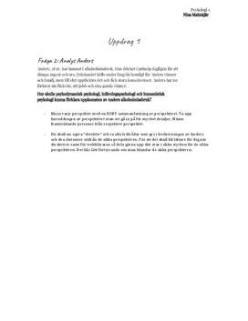 Psykologi och alkoholproblem | Analys