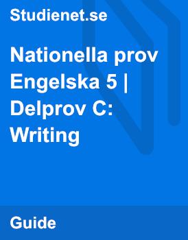 Tidigare nationella prov – Engelska B