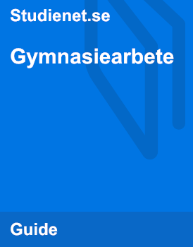 Gymnasiearbete | Guide