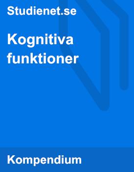 Kognitiva funktioner | Sammanfattning