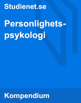 Personlighetspsykologi | Sammanfattning