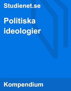 Politiska ideologier | Sammanfattning